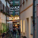 Bamberg bei Nacht - Schlenkerla Ringleinsgasse - Foto: © Gerhard Schlötzer