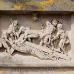 Bamberger Kreuzweg - Christus stürzt