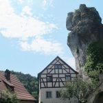 Führung fränkische Schweiz - Felsen Tüchersfeld - Foto: © Dr. Bernhard Leyking