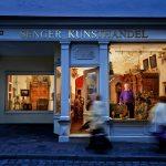 Bamberg bei Nacht - Kunsthandel Senger - Foto: medienreaktor® GmbH Werbeagentur