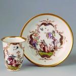 Sammlung Ludwig Bamberg - Schokoladenbecher Chinoiserien Meißen 1725