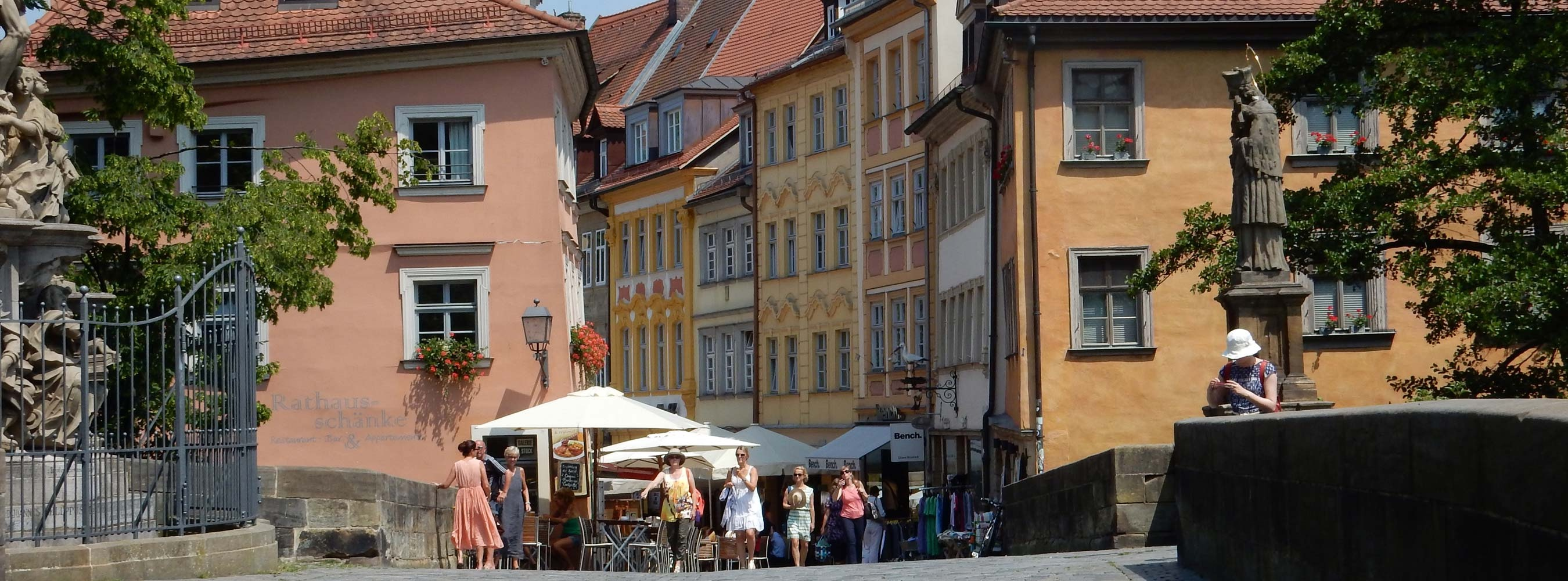 Stadtführung rundum das Rathaus und Brücke Bamberg